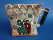 Fine Royal Doulton Dickens Series G 'Old London' Relief Moulded Jug D6291 c1955